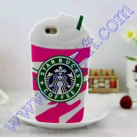 Star bucks design Silicone phone Case covers