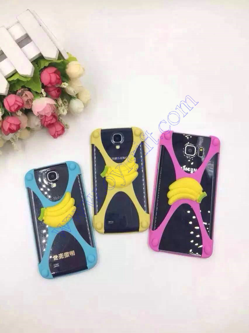 Universal banana Silicone cartoon Phone cover cases